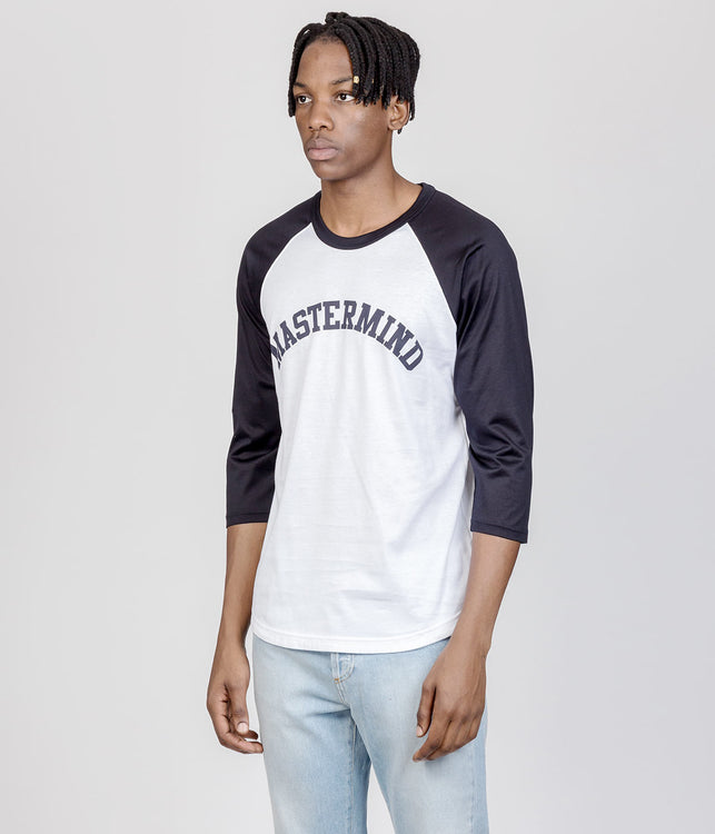 Navy & White mastermind Feat. A-GIRL'S T-shirt