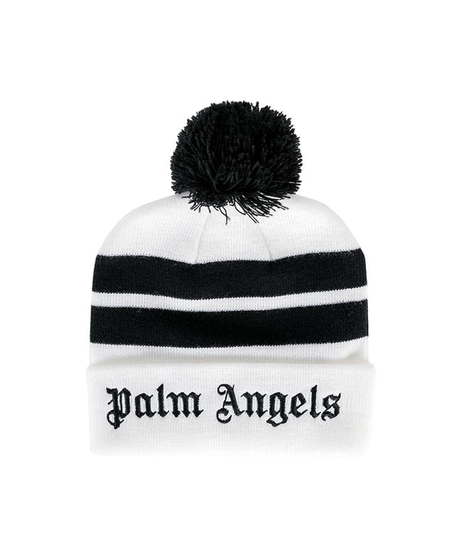 White Mitchell & Ness Beanie Hat