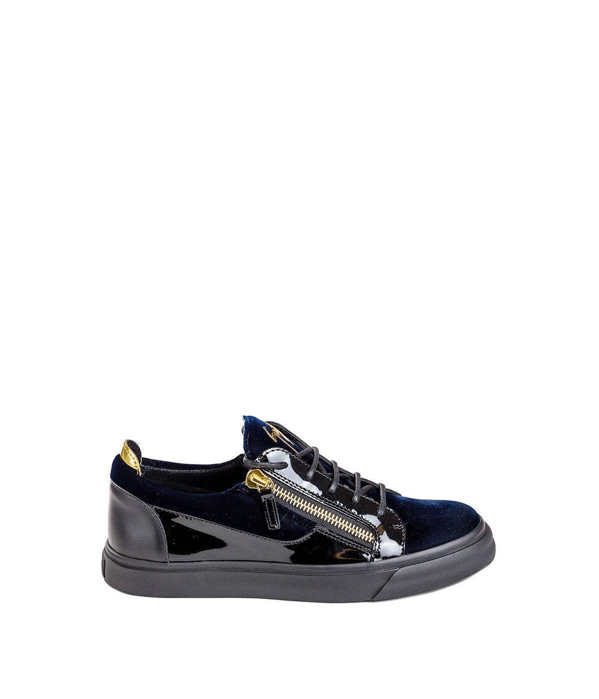 Navy 'Londpn' Low-Top Sneakers