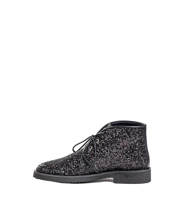 Glitter Embellished Mid-Top Boots