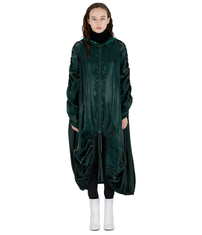 Green Parachute Coat