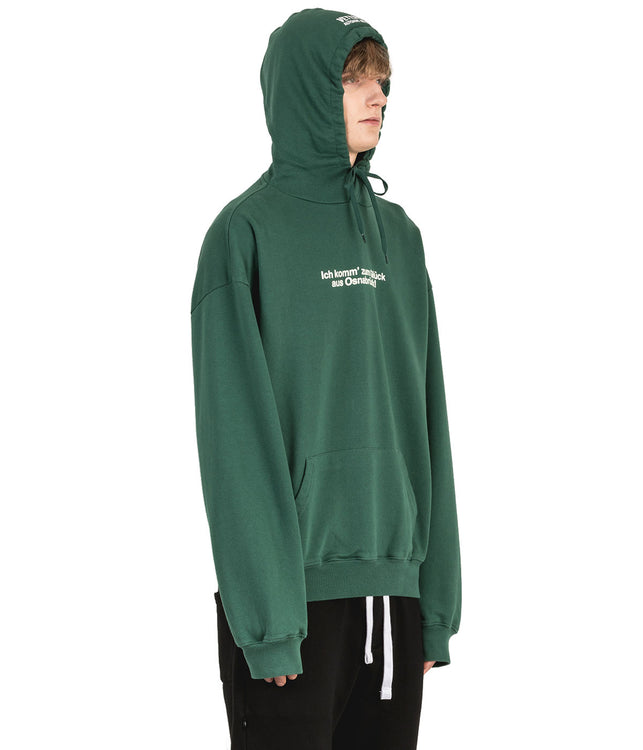 Green Tourist Pullover Hoodie