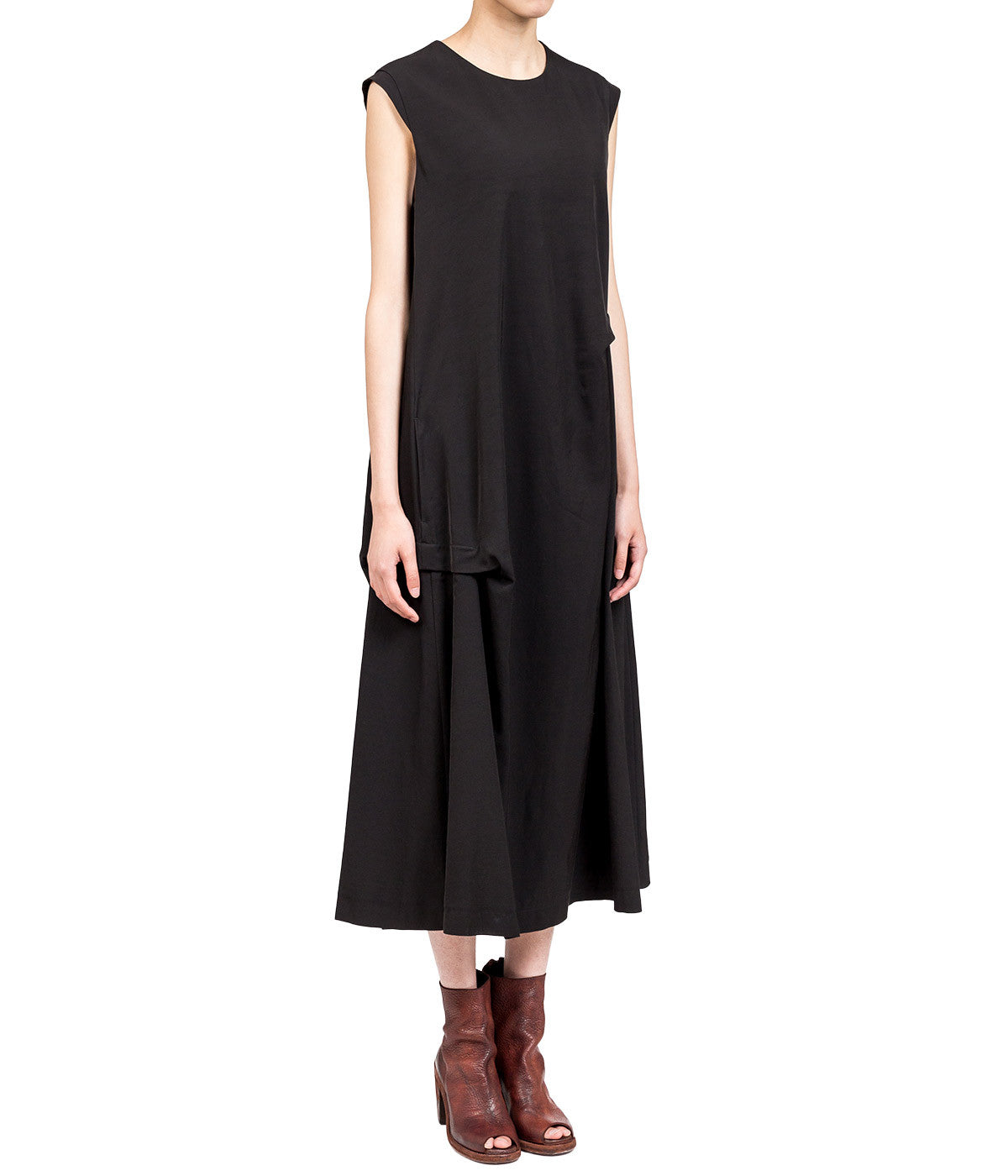 Black Side Tunk Dress