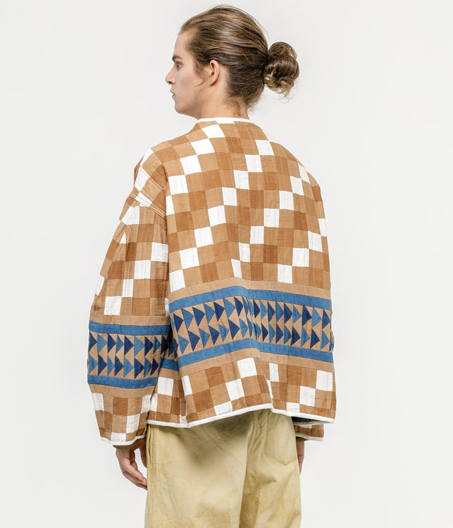 Bark Patchwork Jacket