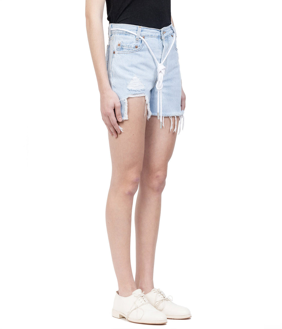 Light Blue Levi's Denim Shorts