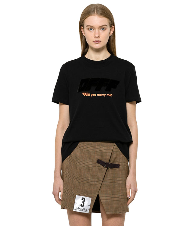 Black Modern Obstacles T-Shirt