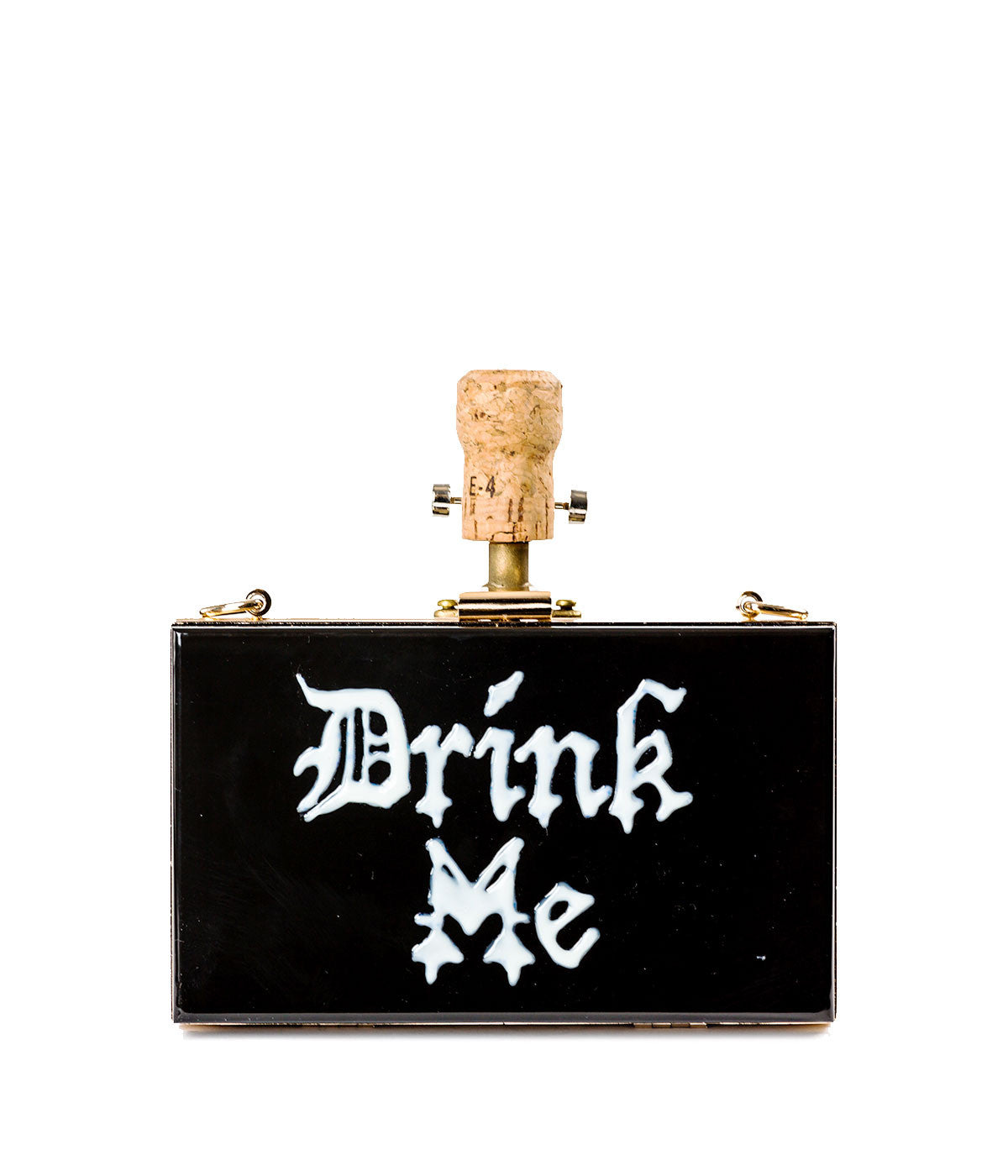 Drink Me Box Clutch