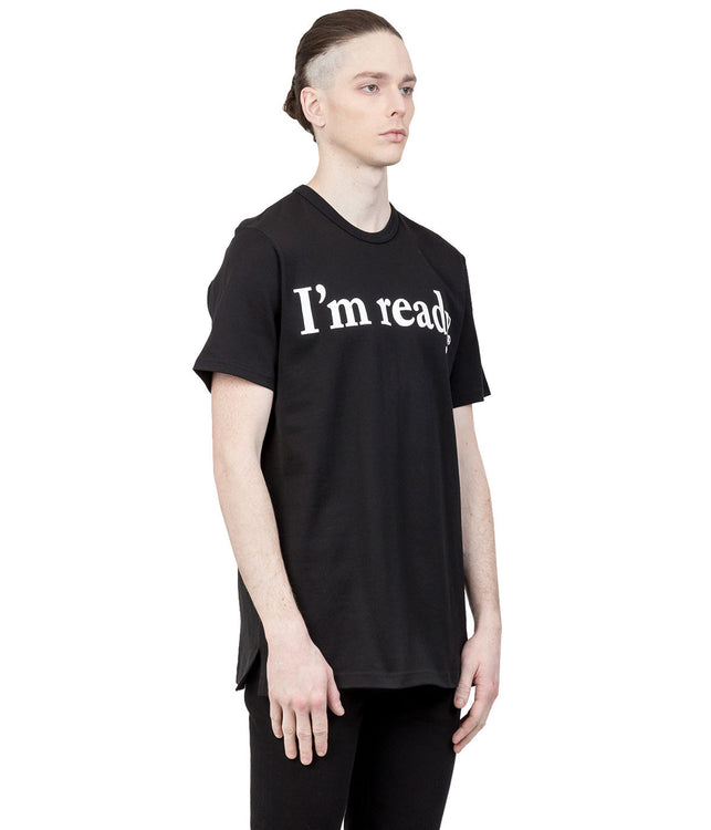 Black 'I'm Ready' T-Shirt