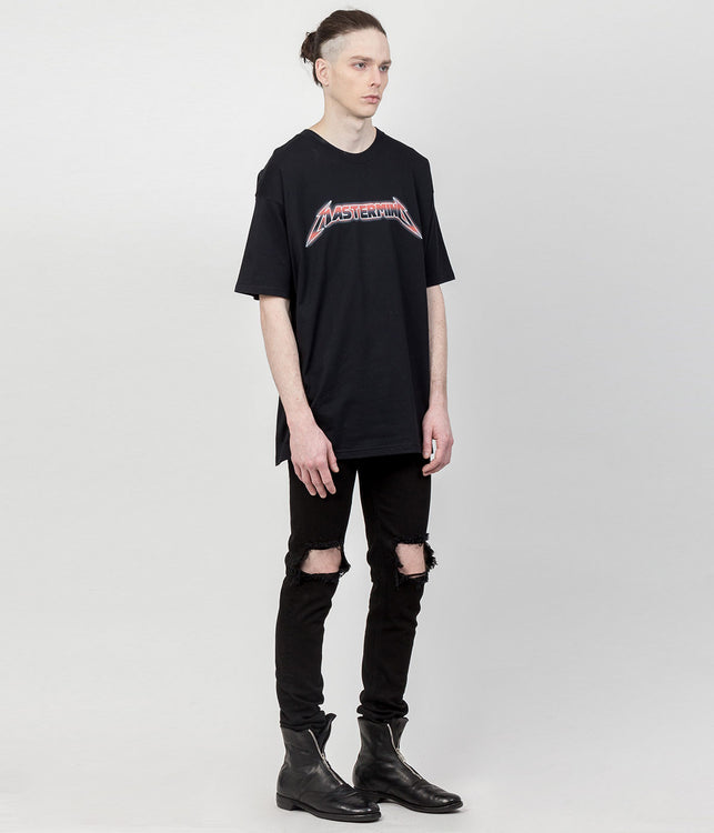 Black Boxy Fit T-Shirt
