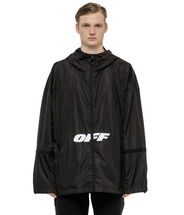 Black Wing Off Windbreaker