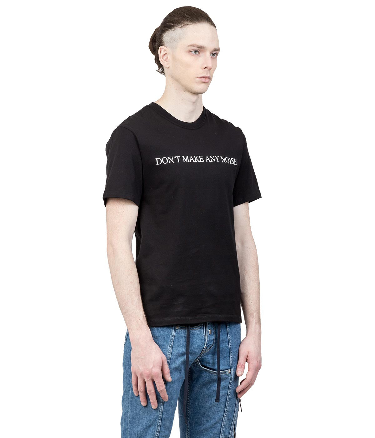 Black Text T-Shirt