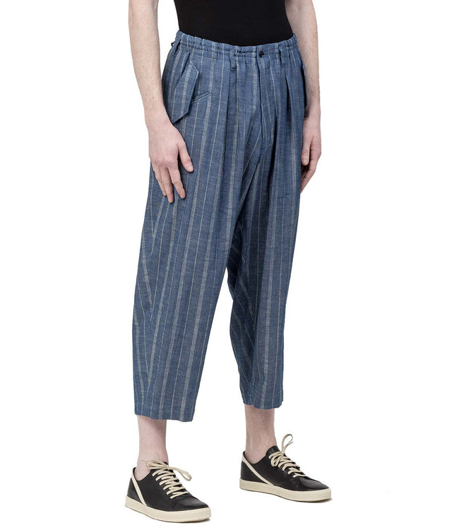 Blue Pinstripe Pants