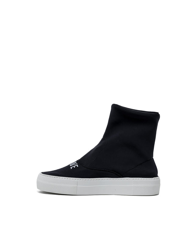 Black Neoprene Sock Shoes