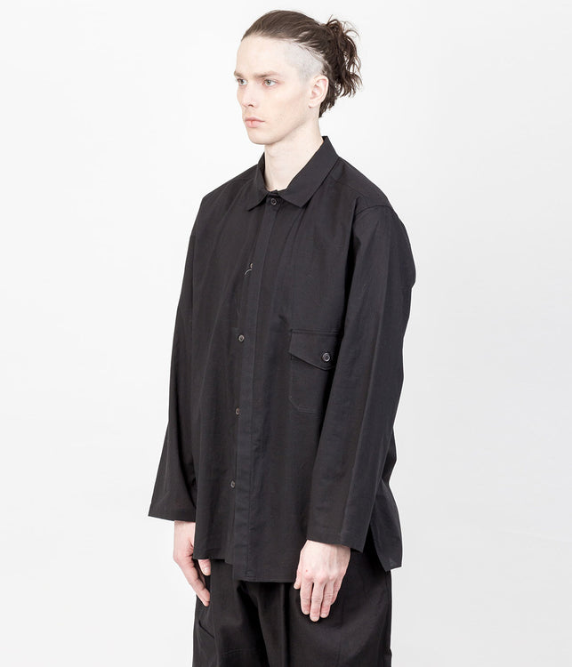 Black Layered Shirt