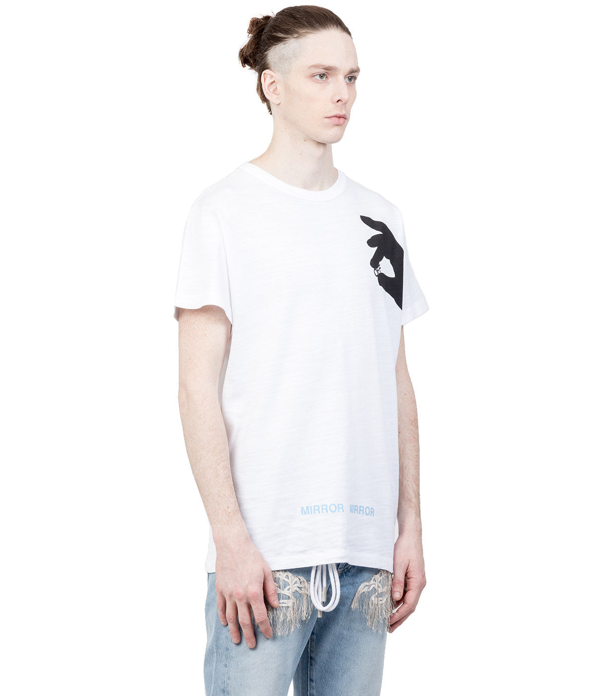 White Graphic T-Shirt