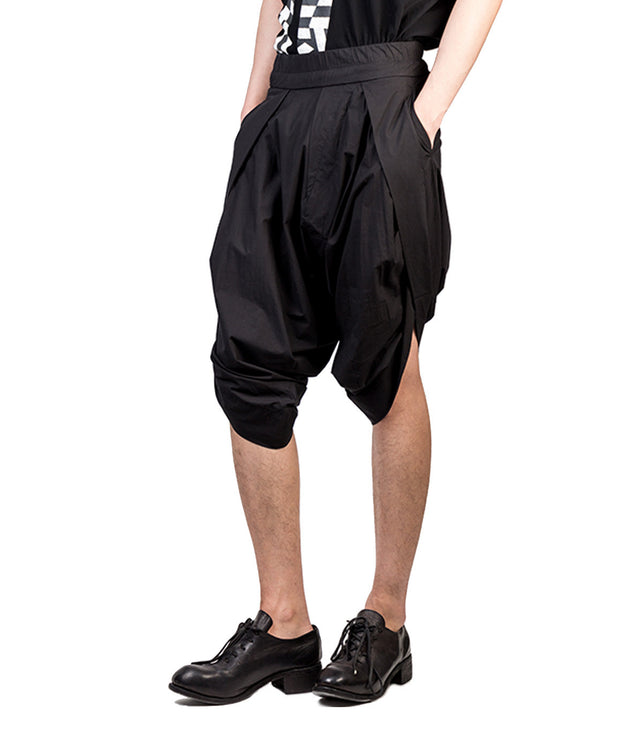 Single Pleat Shorts
