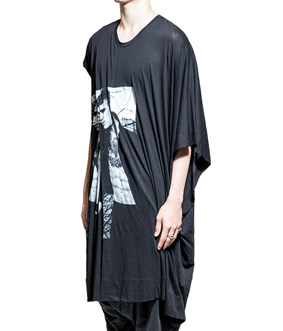 Draped Oversized Top