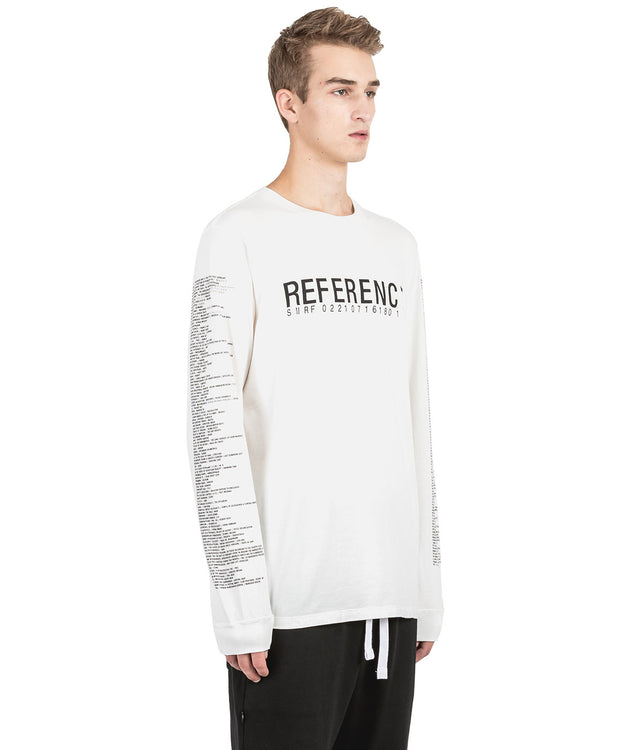 White Reference T-Shirt