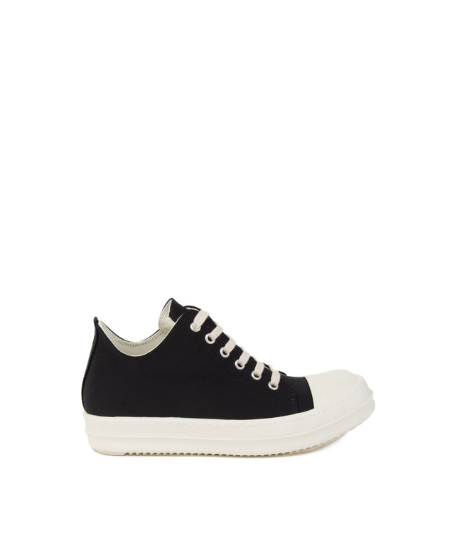 Black Low Cut Sneakers