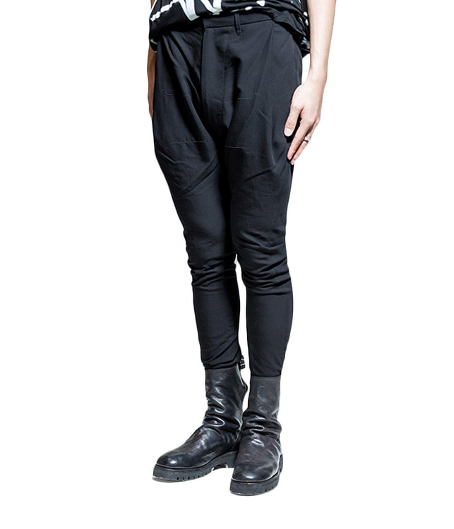 Tailored Dropped Crotch Trousers