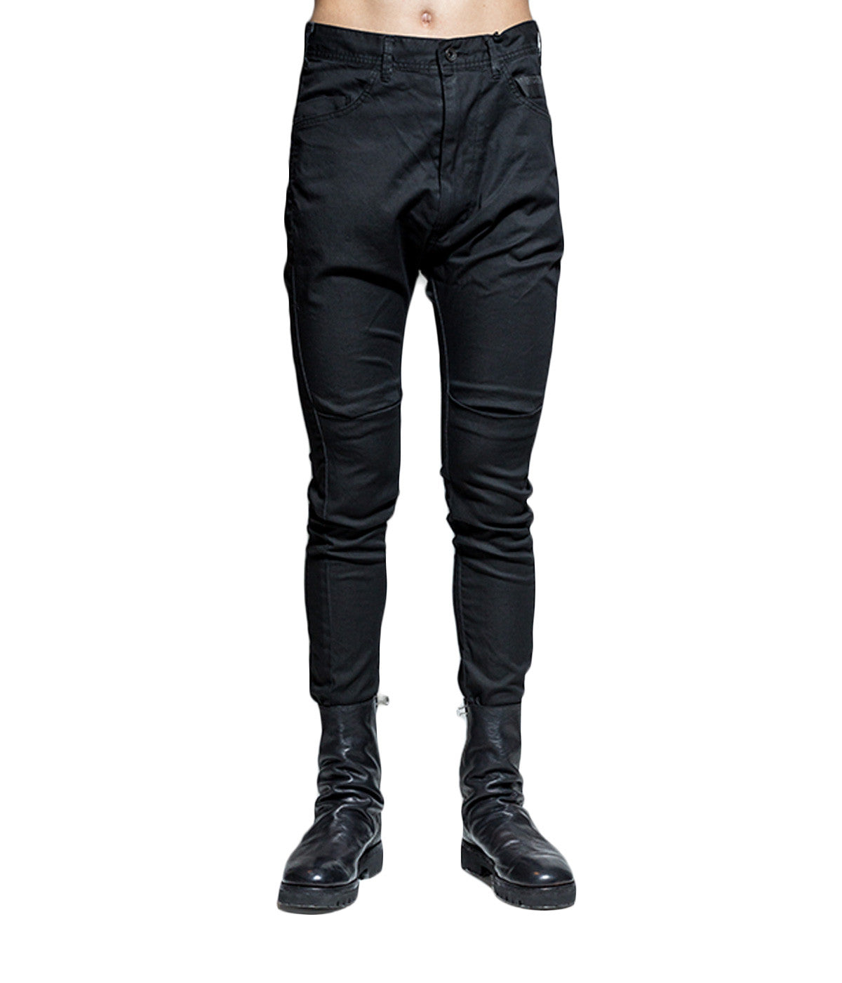 Pleated Knee Trousers