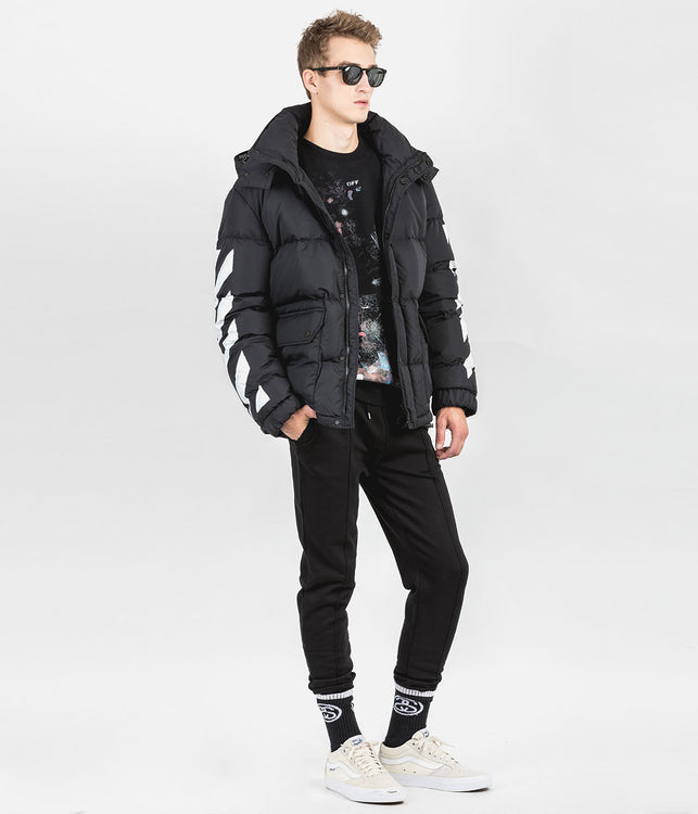 Black Down Padded Jacket