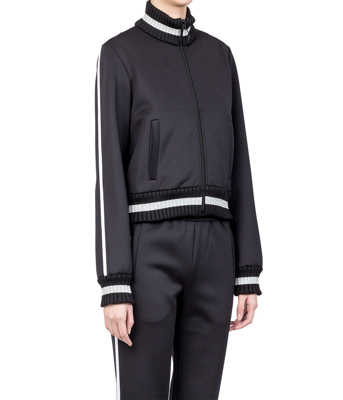 Black Two-Piece Track Suit