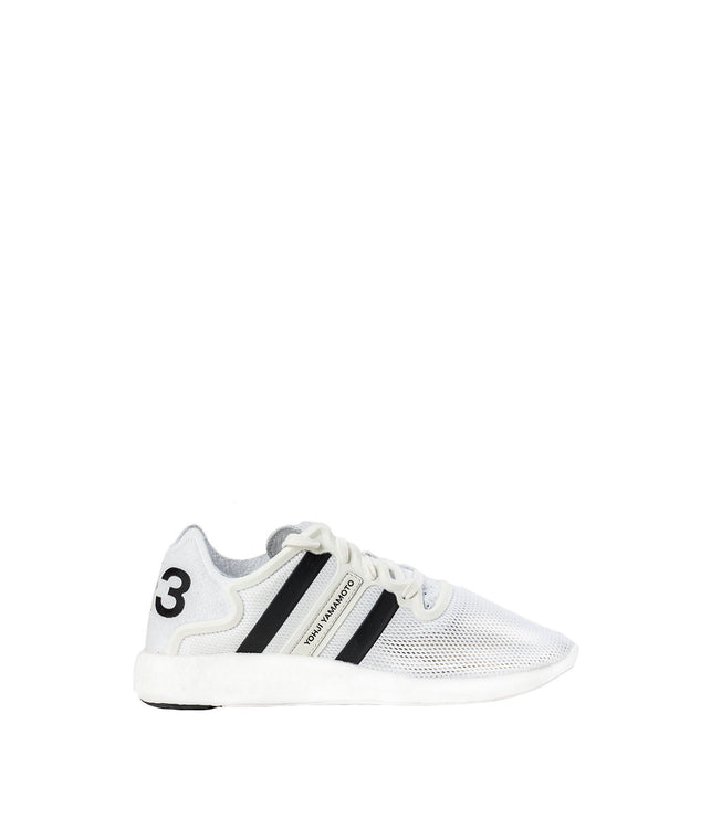 White Mesh Yohji Run Sneakers