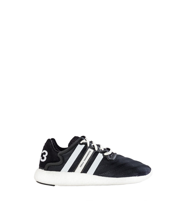 Black Striped Yohji Run Sneakers