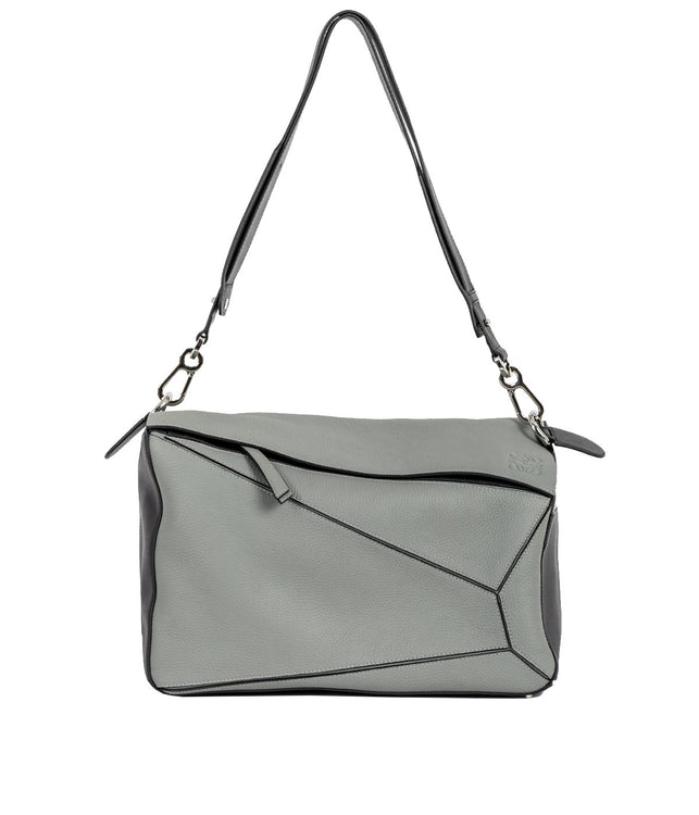 Grey Extra Large Puzzle Bag