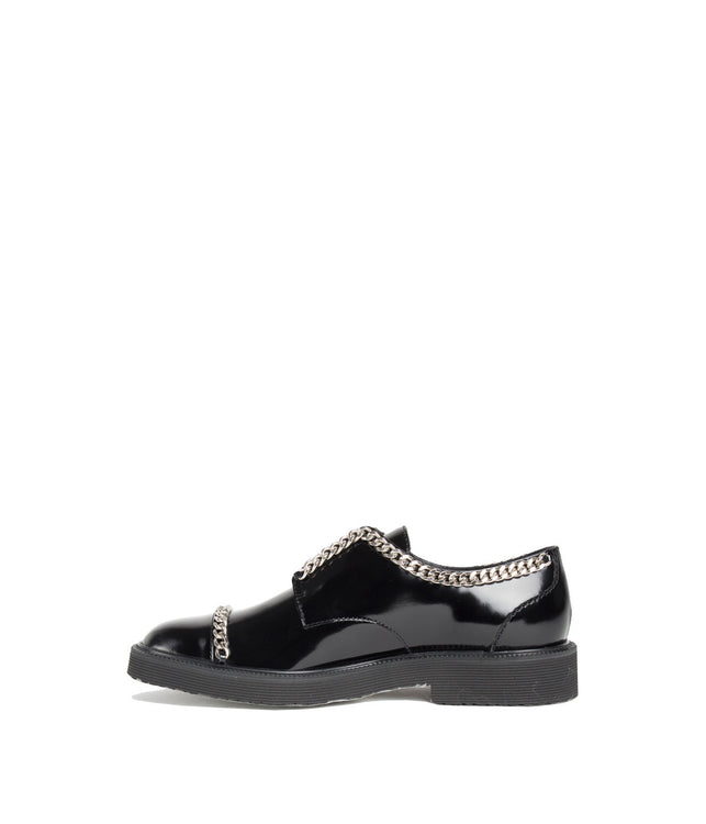 Blacke Laceless Oxford