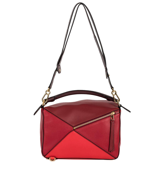 Red Puzzle Bag