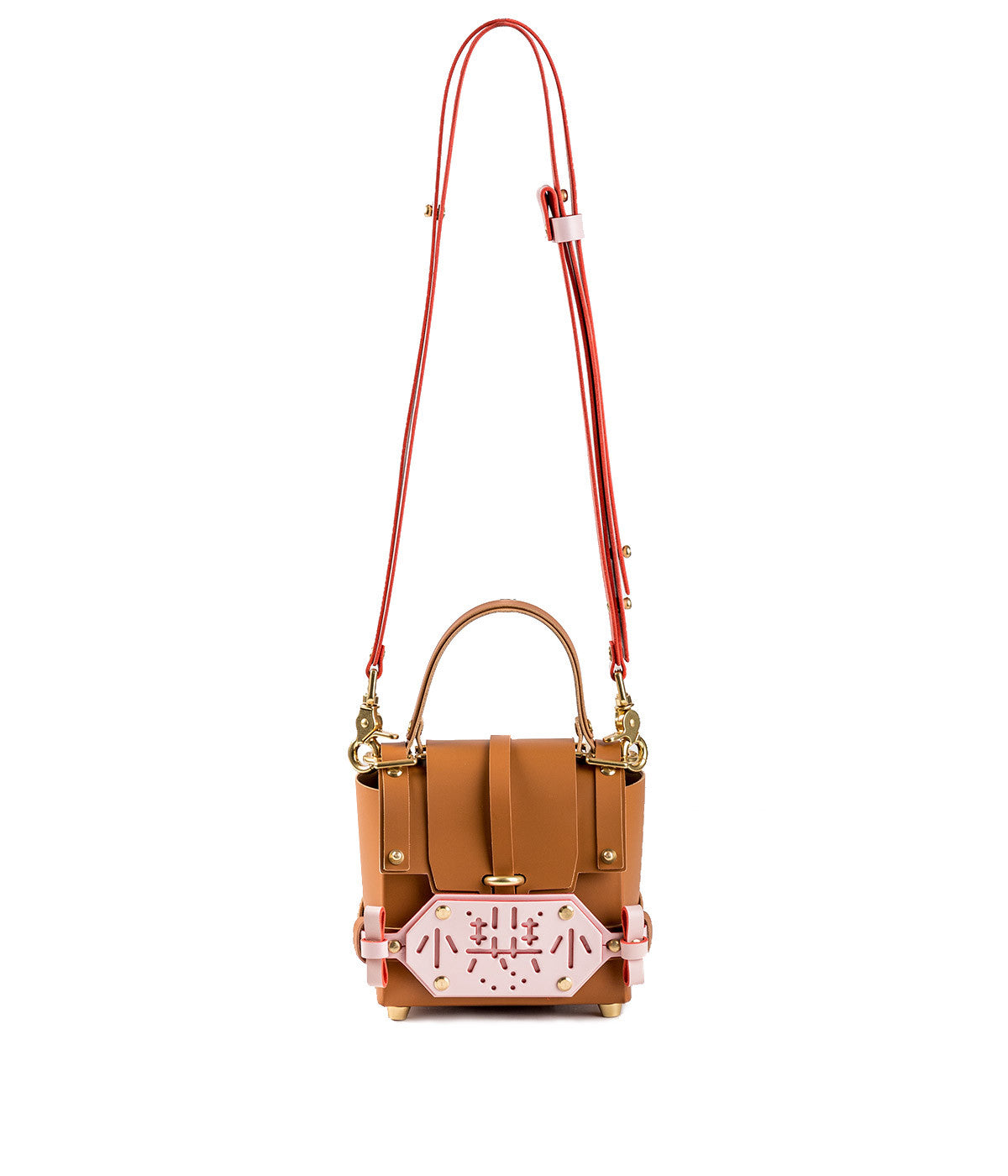 Caramel & Baby Pink Little Evil 3PM Bag
