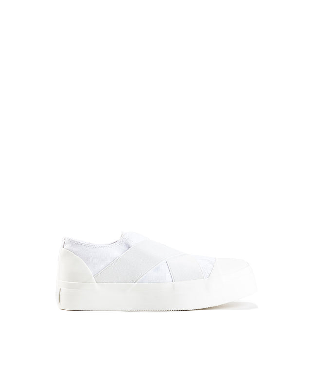 White Cross Bandage Sneakers