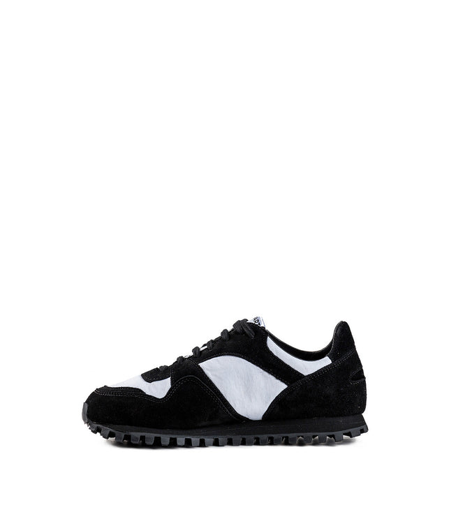 Black & White Spalwart Sneakers