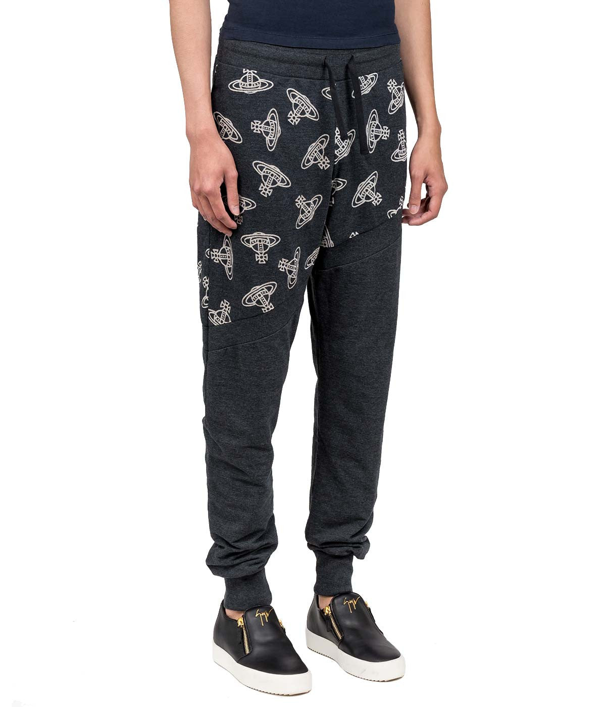 Black Time Machine Track Pants