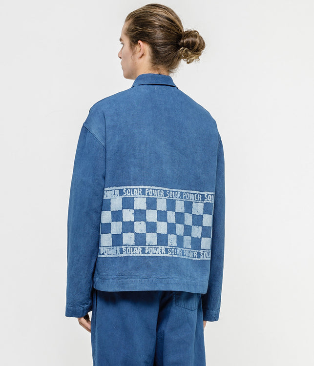 Blue Short-on-Time Jacket