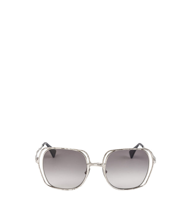 H14 Silver Metal Sunglasses