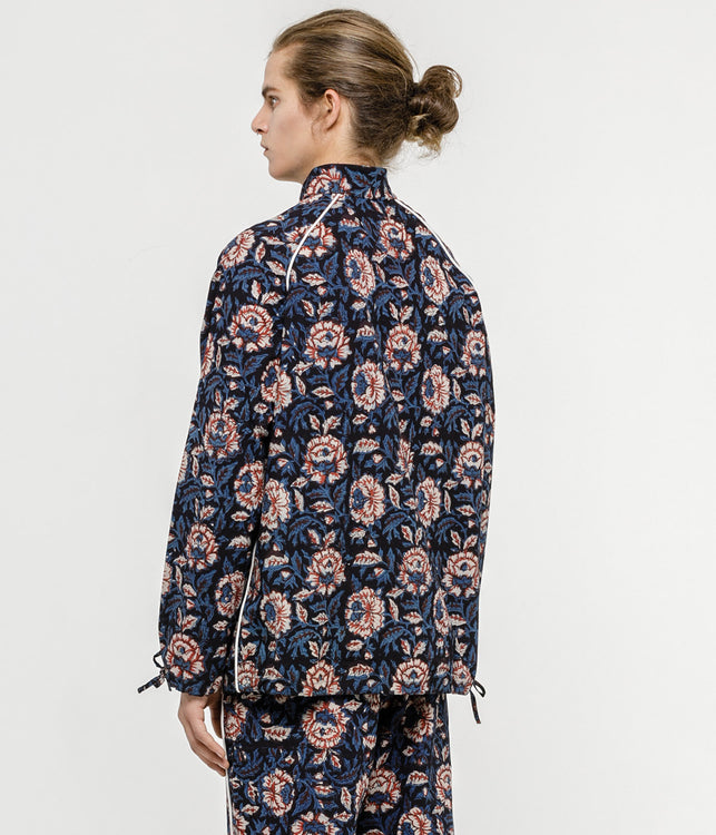 Floral Block Todash Track Jacket