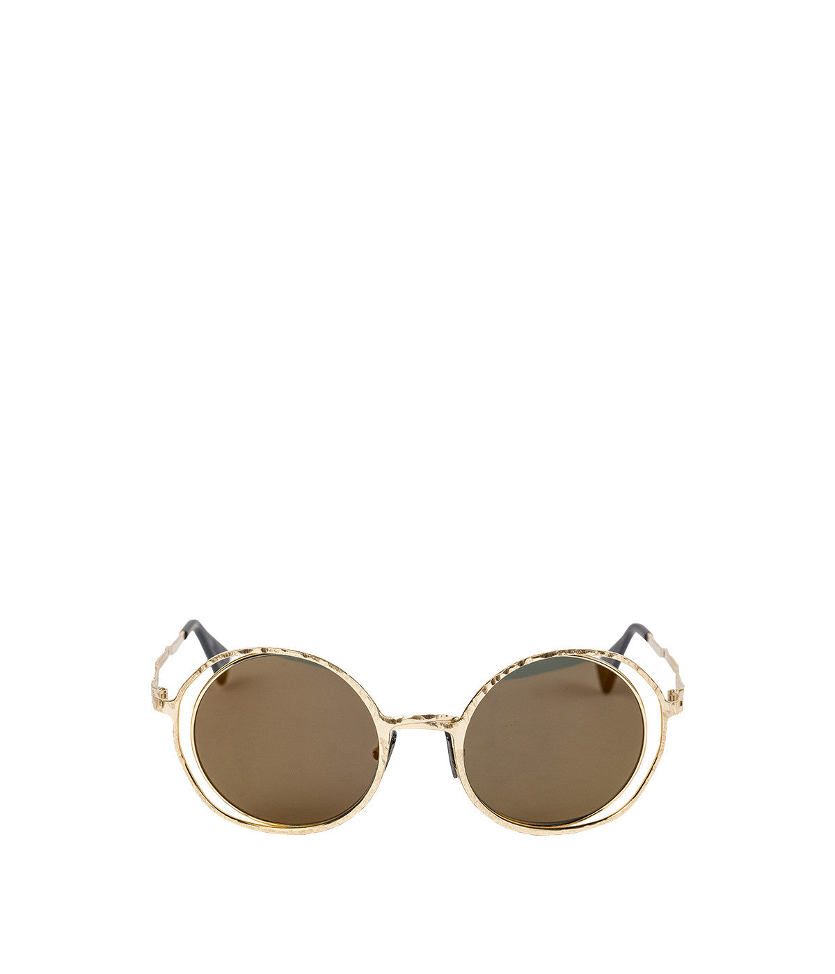 H10 Gold Metal Sunglasses