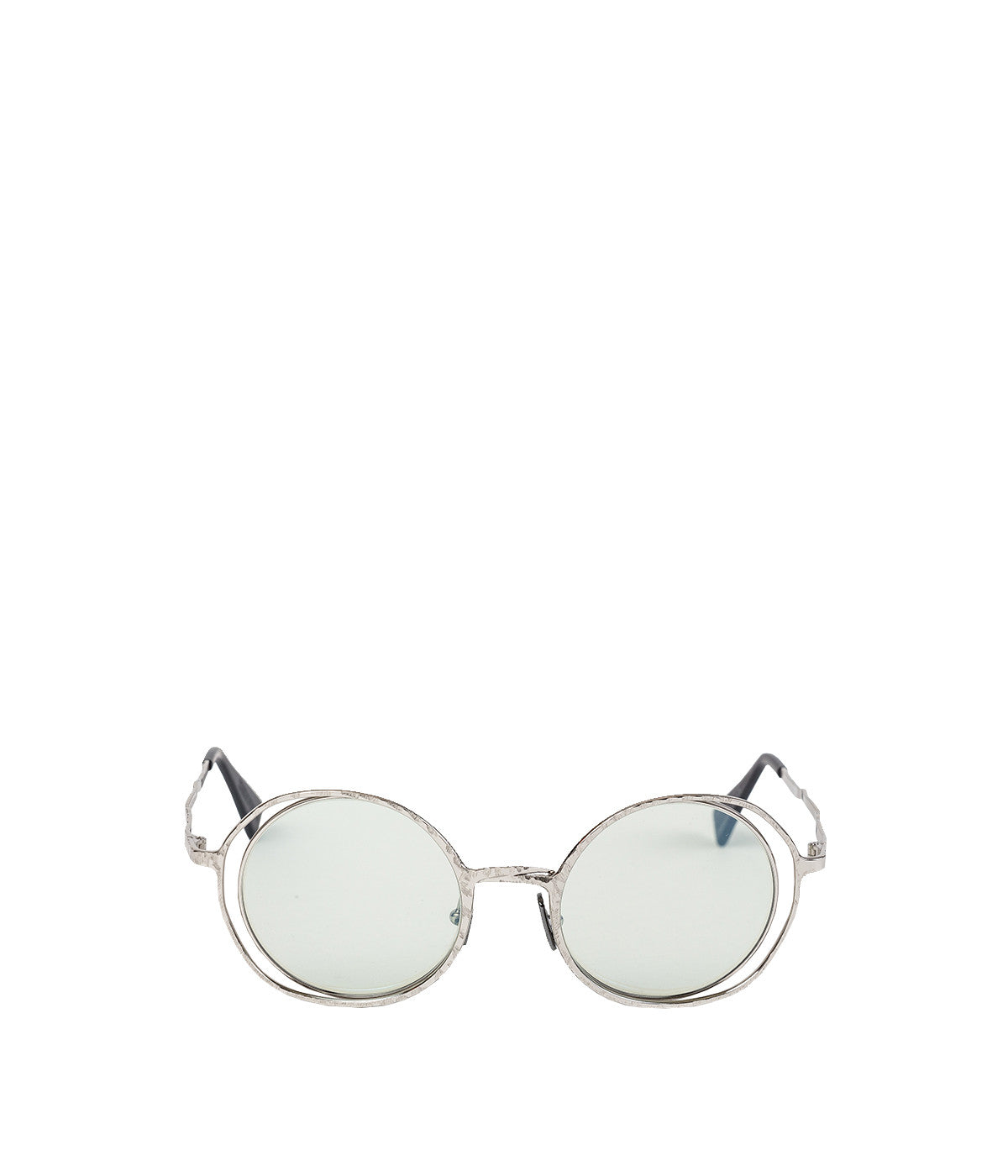H10 Silver Metal Sunglasses