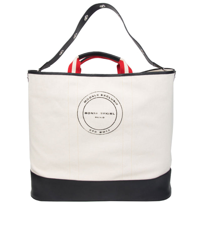 White Travel Canvas Tote Bag