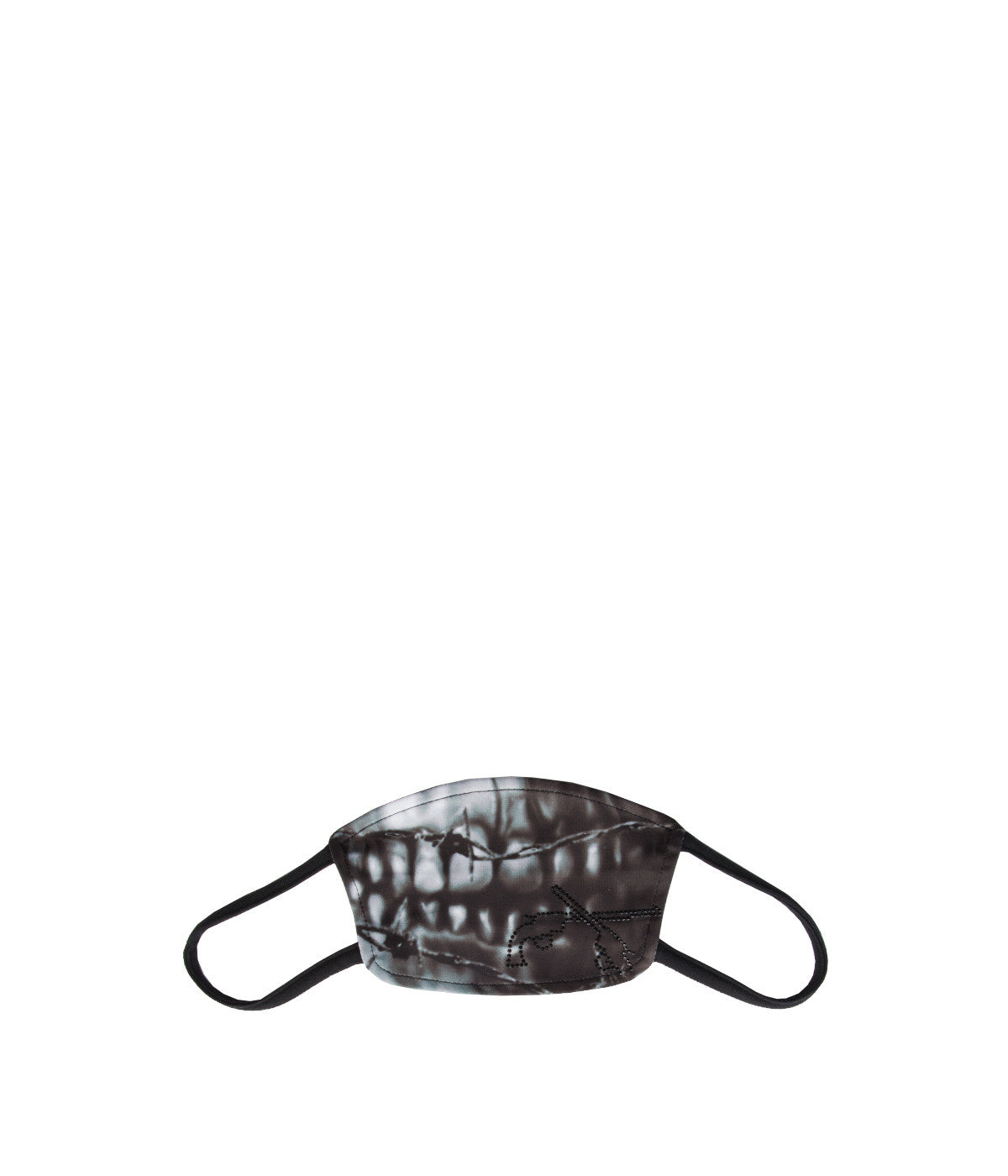 Black Photographic Face Mask