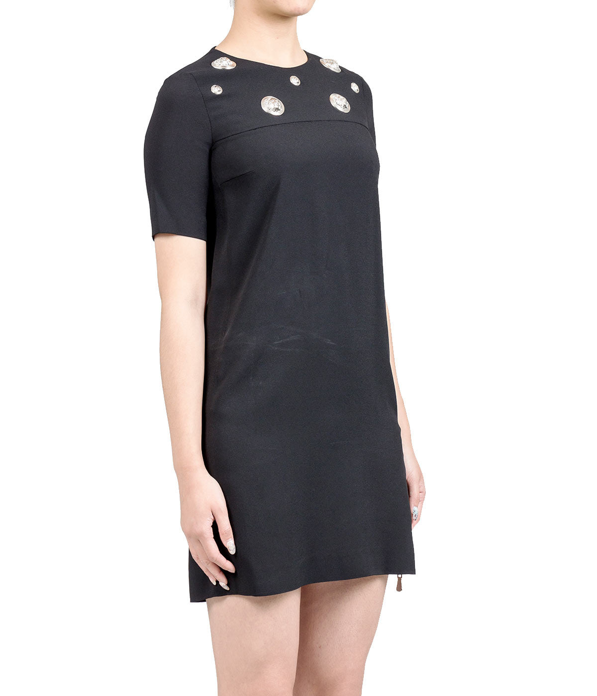 Crepe T-Shirt Dress
