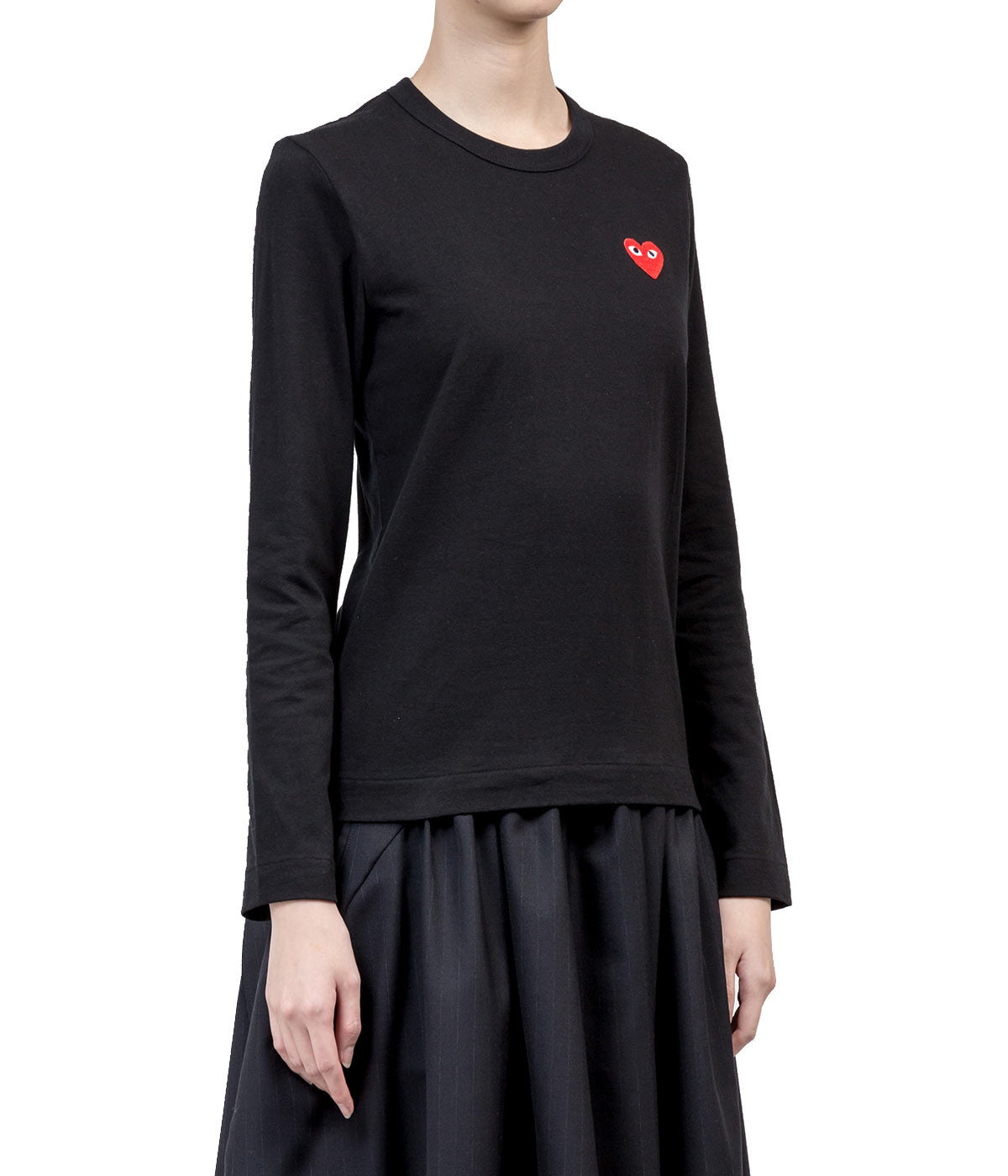 Black Red Heart T-Shirt