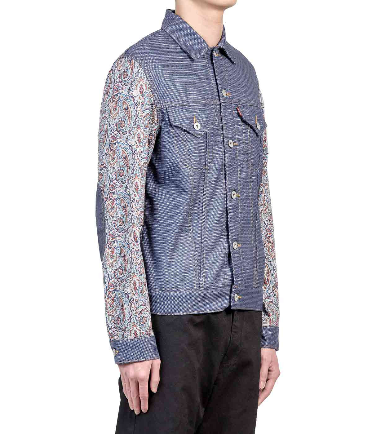Multicoloured Paisley Levi's Jacket