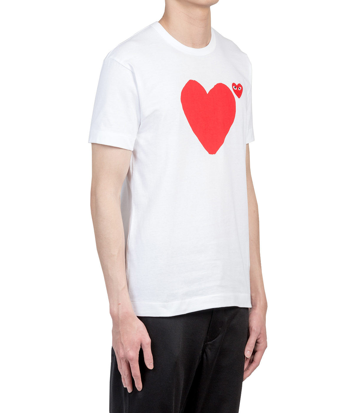 White Red Hearts T-Shirt