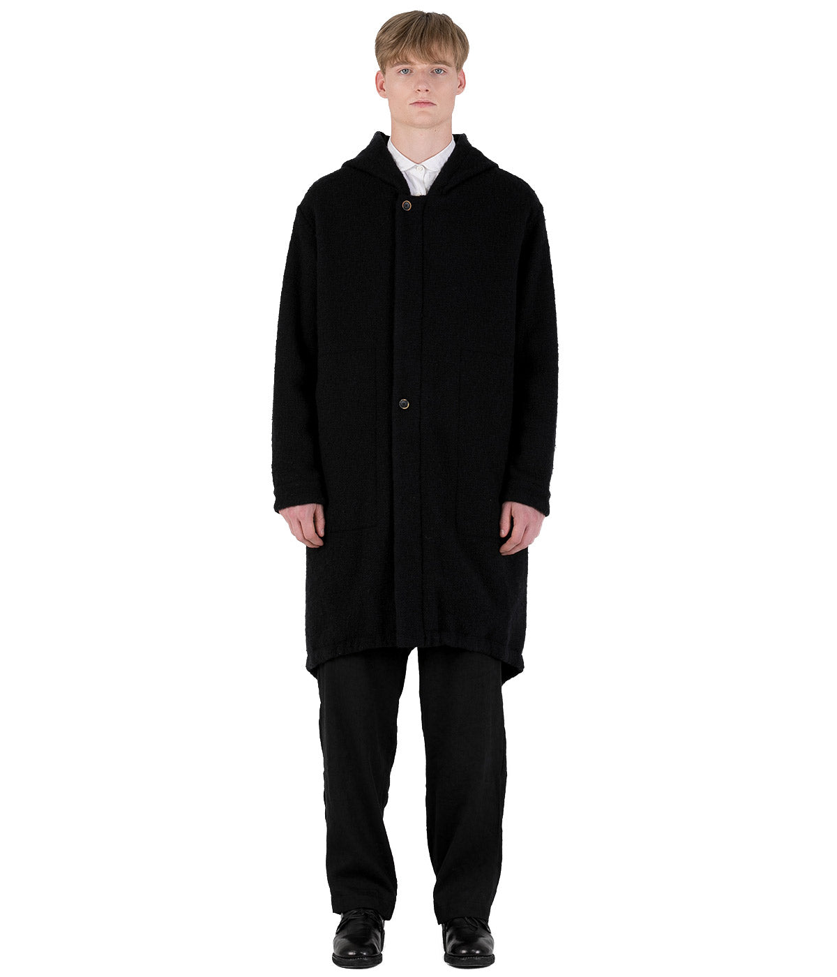 Black Paul Coat