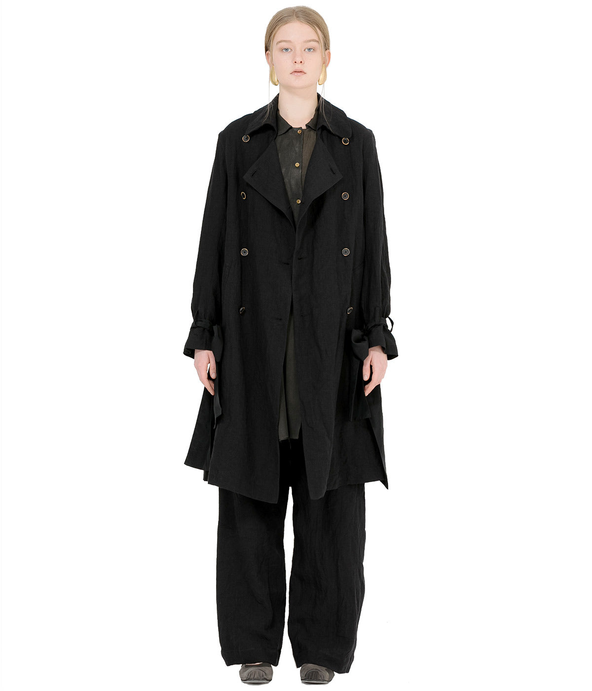 Black Ciana Coat