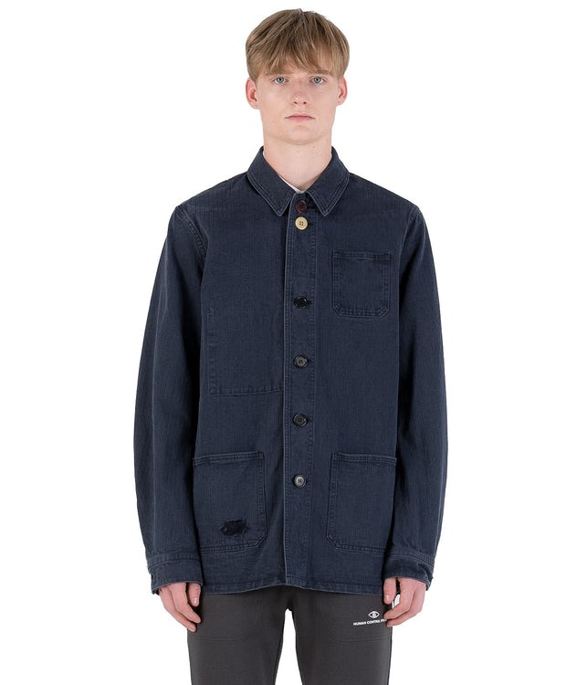 Navy Denim Shirt
